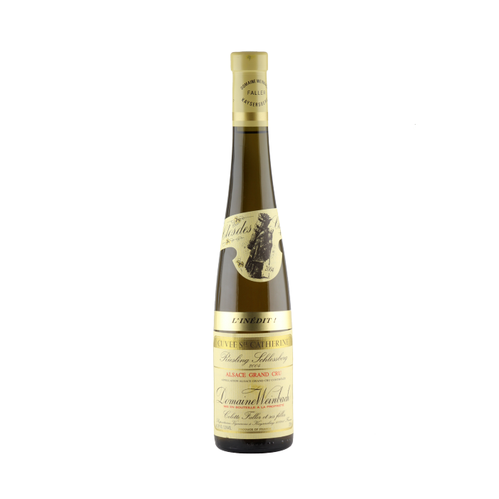 """2004 Weinbach Riesling Schlossberg""""Cuvee St. Catherine"""" Grand Cr 0.375l."""