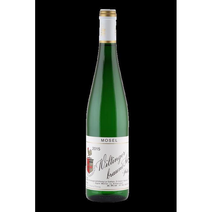 2014 Weingut Egon Müller Riesling Wiltinger Braune Kupp Spätlese (feinherb) süß Versteigerung