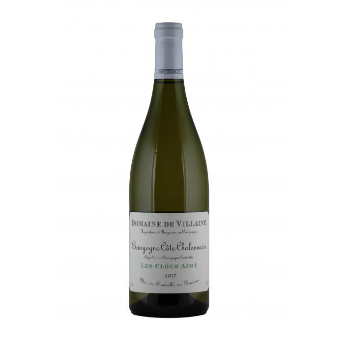 """2018 Domaine de Villaine Bourgogne Cote Chalonnaise """"Les Clous Aime"""" Blanc"""