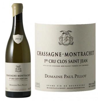"""2016 Domaine Paul Pillot - Chassagne Montrachet """"Clos Saint Jean"""" 1er Cru Blanc"""