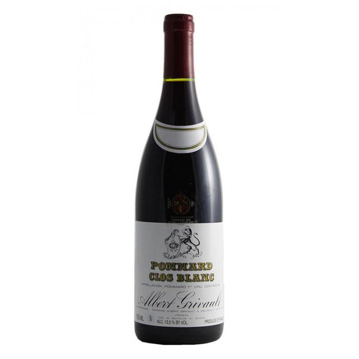 2019 Domaine Albert Grivault Pommard Clos Blanc 1er Cru Rouge