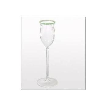 Rochelt - Glas mit grünem Rand