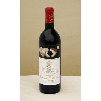 1986 Chateau Mouton Rothschild 1er GCC